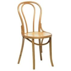 Ella Bentwood Dining Chair   Curved Back Restaurant U0026 Bistro Side Chair
