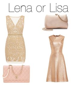 """Lisa or Lena"" by happyrhune-lol ❤ liked on Polyvore featuring Nicole Miller, Lela Rose, LC Lauren Conrad and Chanel"