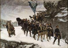 Traslado del cadáver de Carlos XII de Suecia. Obra de Gustaf Cederström. http://www.elgrancapitan.org/foro/viewtopic.php?f=21&t=11680&start=12360#p918512