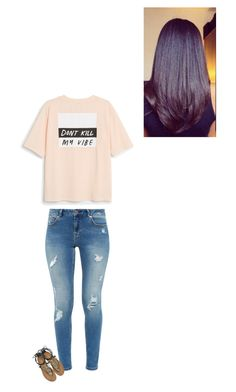 """""""Positive vibes 🌻"""" by queeningg ❤ liked on Polyvore featuring Ted Baker, Monki, Roberto Cavalli and kendricklamar"""
