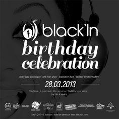 GAGNEZ DEUX ACCÈS VIP POUR ASSISTER À L'ANNIVERSAIRE DE BLACK'IN CE JEUDI 28 MARS 2013 !  Cliquez ici dès maintenant pour participer au tirage au sort : http://www.black-in.com/ane-pas-manquer-sur-blackin/les-jeux-de-blackin/equipe-black-in/gagnez-2-acces-vip-pour-lanniversaire-de-blackin/