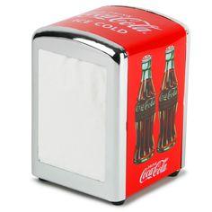 Coca Cola Napkin Dispenser | Napkin Holder Serviette Dispenser - Buy at drinkstuff