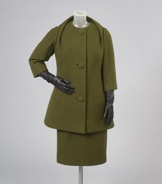 Suit (Date: Fall 1959, Designer: James Galanos, Source: Philadelphia Museum of Art)