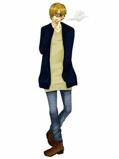 Sanji Vinsmoke, One Piece, Blazer, Sexy, Anime, Jackets, Fashion, Persona, Down Jackets