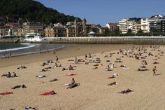 Places to go in Spain - San Sebastian and things to do while in San Sebastian. This is northern Spain at its best.