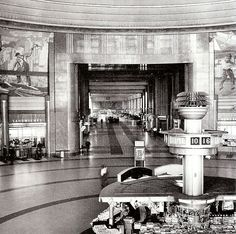 Cincinnati Union Terminal....road a train from here to St Louis when I was a little girl!