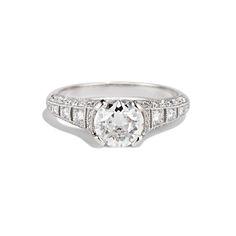 ESTHER - Cushla Whiting Old cut diamond