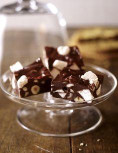 Unser beliebtes Rezept für Marshmallow-Schoko-Konfekt und mehr als 55.000 weitere kostenlose Rezepte auf LECKER.de.