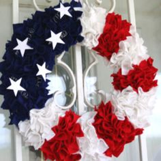 4th of July Wreath for the lake