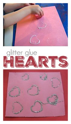heart craft for kids Fun Easy Crafts, Valentine Crafts For Kids, Valentines For Boys, Valentines Day Activities, Valentines Day Party, Diy Crafts For Kids, Valentine Ideas, Preschool Activities, Snow Globe Crafts