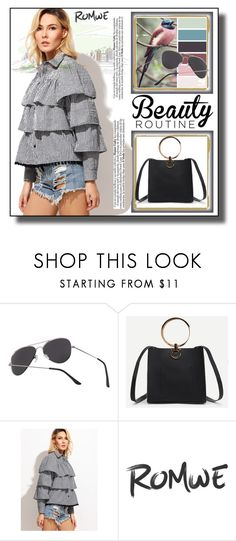 """// Romwe 2.//"" by fahirade ❤ liked on Polyvore"