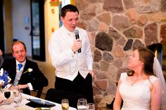 We loved this groom's speech! It was a big highlight of the day | Photography by Vibrenti: http://vibrenti.com/weddings/