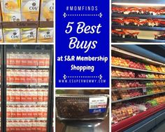 5 Best Buys at S&R M
