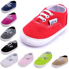 Canvas Baby Sneaker Shoes  Soft and Comfortable Baby & Toddler Clothing!