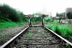 Erg gave foto van de laatste restjes spoor op het Van Gend & Loos terrein. Fotograaf: Justin van Groenendaal. #spz013