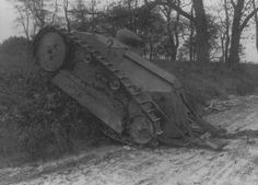 One of two or possibly three m1918 tanks in France.