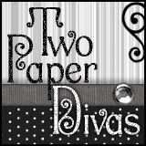 You need to visit the web site for Two Paper Divas. They have stamps, printables, tutorials (some free, some for sale) for all kind of paper crafts, cards, mini albums, wonderful holiday crafts.... and on and on. I love this site; these women are TALENTED.