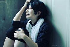 Tadashi Yamaguchi - Haikyuu!! #Cosplayer #cosplay #anime #sad #androgenous #aesthetic #bjd #hot #tumblr #nerd #gumball #crossplayer #cross #corsser #crossplayer #crossplay #alone #noonethere #lost #animemanga #animeboy #tearyeyes #crying
