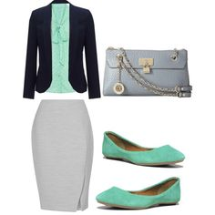 Interview outfit great for springtime