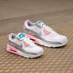 Authentic Nike Air Max Thea White Pink Blue Cherry Blos