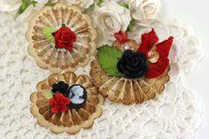 Paper Rosette Flowers