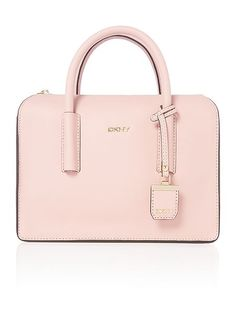 DKNY Saffiano light pink satchel bag at House of Fraser House Of Fraser, Ladies Fashion, Womens Fashion, Satchel Bag, Soda, Pink, Bags, Women's Work Fashion, Handbags