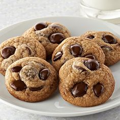 Ghirardelli Baking: Chocolate Chip Cookies Recipe- my favorite Choc Chip cookie recipe. Husband approved