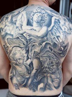 Tattoo Artist - Miguel Bohigues   www.worldtattoogallery.com/back_tattoos