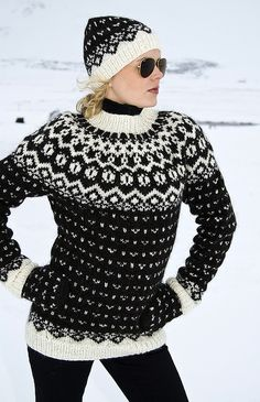 Icelandic sweater @Michelle Speta gotta get ourselves one of these!
