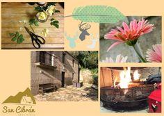 Un lugar en el monte Pindo.  www.sancibranrural.com  #cottage #casarural #travel #decoracion #sancibranrural Country Cottages