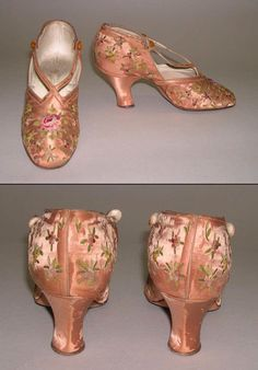 [French] Silk Slippers (1910)