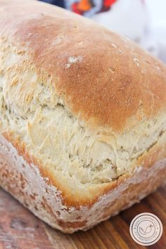 Cooking For Kids No Salt Recipes, Dairy Free Recipes, Baking Recipes, Best Bread Recipe, Easy Bread Recipes, Confort Food, Banana Bread Muffins, Rustic Bread, Pastry And Bakery
