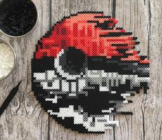 #Pokeball #Deathstar by hollohandcrafted #Pokemon #Star_Wars Mashup