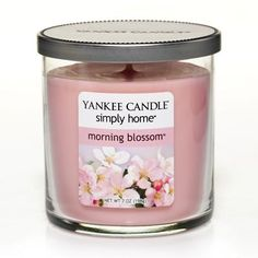 Yankee Candle simply home 7-oz. Morning Blossom Jar Candle#YankeeCandle #MyRelaxingRituals