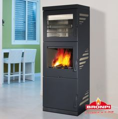 Bronpi Monaco Wood burning Stove with Oven & Grill