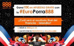 el forero jrvm y todos los bonos de deportes: 888sport europorra888 twitter Francia vs Islandia ...
