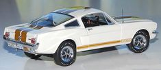 PhillyMint-Franklin Mint 1966 Ford Shelby Mustang GT350H Wimbledon White Ltd. Ed. 1:24th diecast model