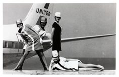 Title: 1968 Stewardess Uniforms San Diego Air & Space Museum United Airlines Archive Photo Catalog #: WOF_00099 Date: 1968 Item Location: Women of Flight Box 3 Collection: Women of Flight Special Collection Tags: Women of Flight Photo, 1968 Stuardess Uniforms, 1968   Original URL: www.flickr.com/photos/sdasmarchives/8392215403/