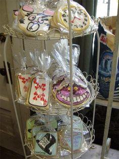 Randoons in wonderland 10 year celebration cookies