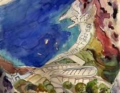"Check out new work on my @Behance portfolio: ""sea of Santorini"" http://be.net/gallery/57332113/sea-of-Santorini"