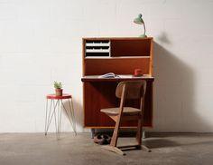 Dutch Mid-Century Desk. Amsterdammodern.com