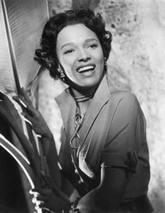 Dorothy Dandridge's soft ringlets provided a prim alternative to big hair like Connie Francis and Elizabeth Taylor's.