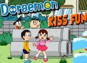 Doraemon Kiss Funny | Juegos Doraemon - el gato cosmico jugar