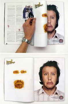 40 Amazingly Creative Double Page Magazine Ads Guerilla Marketing Photo Clever Advertising, Print Advertising, Advertising Campaign, Marketing And Advertising, Guerilla Marketing, Street Marketing, Magazine Ads, Print Magazine, Magazine Design