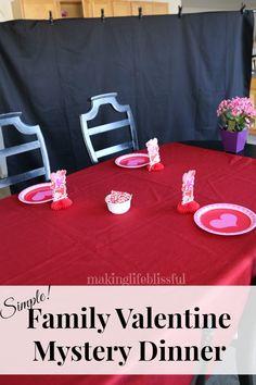 Pebbles & Piggytails: Valentine Mystery Dinner