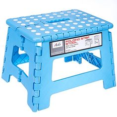 Acko 9-Inch Plastic Folding Step Stool Holds up to 250 lb Light Blue  sc 1 st  Pinterest & Minnie Two-Tier Step Stool | Minnie mouse islam-shia.org