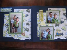 scrapbooking ideas brothers | Brothers | Scrapbook Page Ideas