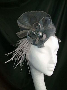 Fascinator Hat - this one is a little more subtle for the Glam That Gives event