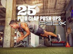 p90x plyo clap push ups