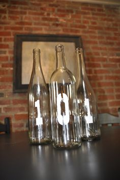 Recycled Wine Bottles - a simple DIY project!